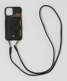 【WEB限定】【別注】∴<tov>レザーiPhone 11PRO/X/XS ショルダーパスケース