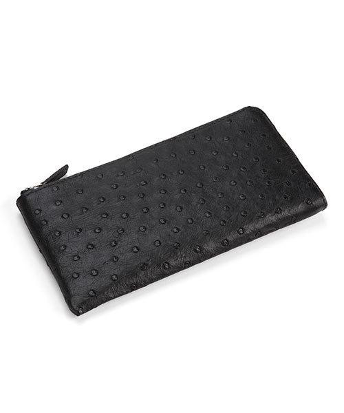 日本最大のブランド sankyoオーストリッチレザーL字長財布(財布)|sankyo shokai(サンキョウショウカイ)のファッション通販, ミナミマツウラグン:abbcc84e --- pyme.pe