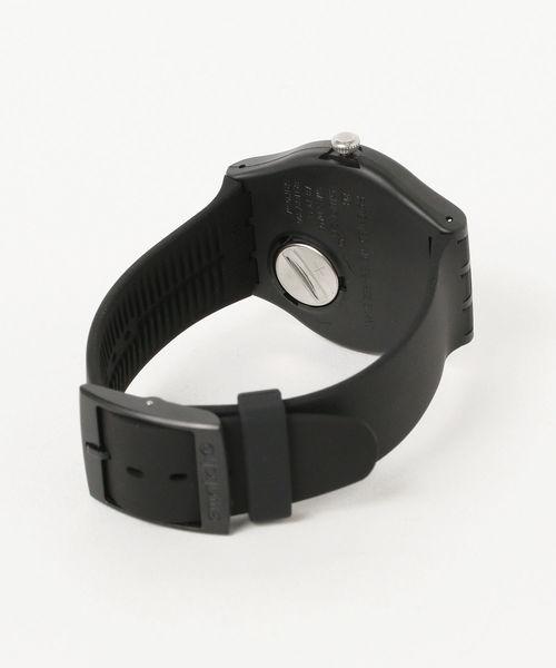Swatch / NEW GENT 'PIU NERO' SUOB157 3針ウォッチ