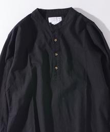 CIAOPANIC TYPY(チャオパニックティピー)のフランダースリネンプルオーバーシャツ(シャツ/ブラウス)