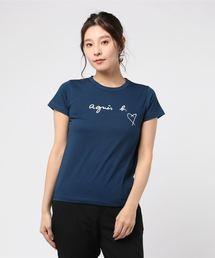 agnes b.(アニエスベー)の【WEB限定】SBX4 TS ロゴTシャツ(Tシャツ/カットソー)