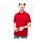 LACOSTE(ラコステ)の「『L.12.12』定番半袖ポロシャツ(ポロシャツ)」|レッド