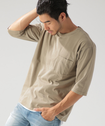ea19dec6f2b BAYFLOW Men's(ベイフロウ メンズ)の「5分袖レイヤーTEE(Tシャツ
