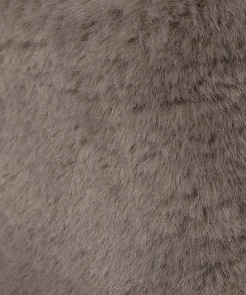 ikka(イッカ)の「エコファースクエアショルダー(ショルダーバッグ)」|詳細画像