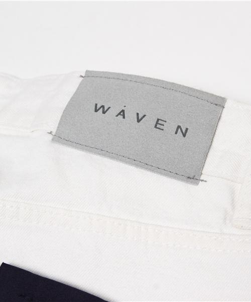 WAVEN(ウェイヴン)  ホワイトデニム