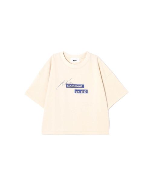 (mici)フロントロゴビッグTシャツ