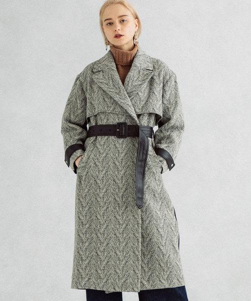 上品なスタイル TOKYO UNITEDバイカラーロングコート(その他アウター)|UNITED TOKYO(ユナイテッドトウキョウ)のファッション通販, KANAYAMASHOP:0a53f458 --- tsuburaya.azurewebsites.net