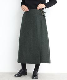 bulle de savon(ビュルデサボン)のMallalieus 巻きスカート(スカート)