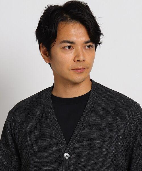 TAKEO KIKUCHI(タケオキクチ)の「ノルマンディリネンカーディガン(カーディガン/ボレロ)」 詳細画像