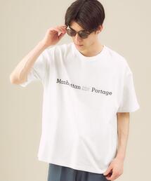 別注 [ マンハッタンポーテージ ] Manhattan Portage バックスカイラインTシャツ