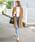 select MOCA(セレクトモカ)の「【美形ハンサムコート】ツーボタンロング丈長袖チェスターコート(チェスターコート)」 キャメル