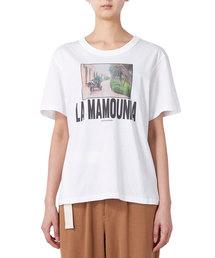 "muller of yoshiokubo(ミュラー オブ ヨシオクボ)のmuller of yoshiokubo ""LA MAMOUNIA""フォトプリントTシャツ(Tシャツ/カットソー)"