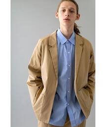 <monkey time> CTN GABA LAPEL SHIRT/シャツジャケット