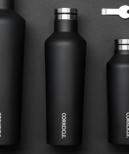 CORKCICLE(コークシクル)の「16oz/470ml Canteen(キャンティーン)ステンレスボトル [CORKCICLE/コークシクル](水筒)」|ブラック