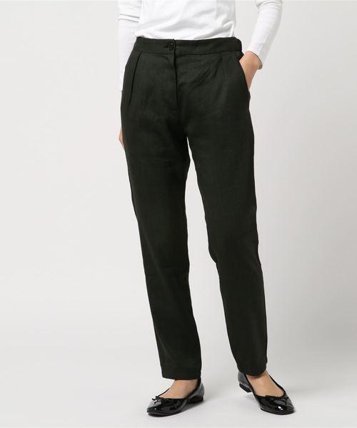 【在庫あり】 SUZiE WiNKLE/スージー ウィンクル/one tuck pants, アンパチチョウ cdec277b