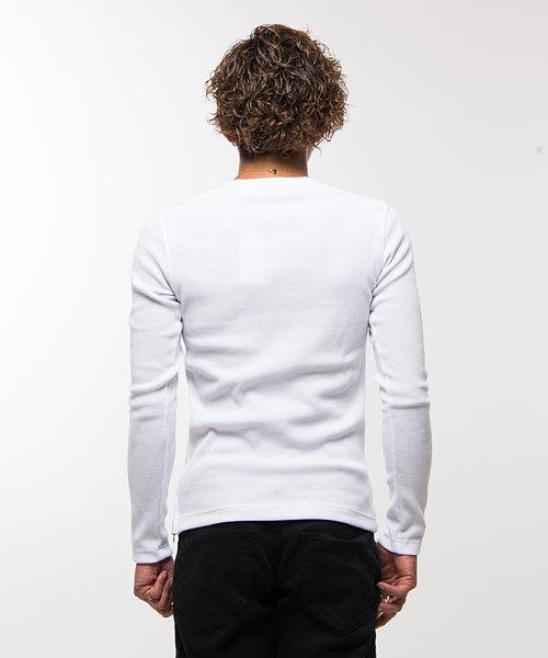 VIOLA rumore サーマルVネック長袖Tシャツ / A91126【*】