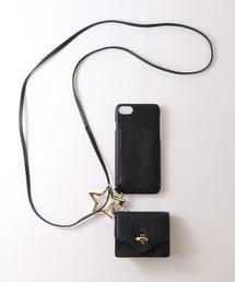 【 Hashibami / ハシバミ 】 # ミニポーチ付き 8/7/6/6s/se(第2世代) iphoneケース Ha-2004-686ブラック