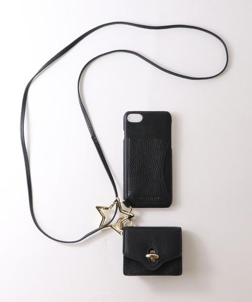 【 Hashibami / ハシバミ 】 # ミニポーチ付き 8/7/6/6s/se(第2世代) iphoneケース Ha-2004-686
