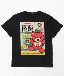 HYSTERIC FREAKS pt Tシャツ【L】ブラック