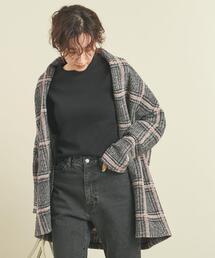 【WEB限定】by エアリーチェックガウン ∴