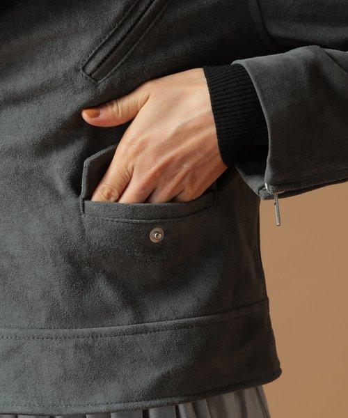 ラムスエードジャケット