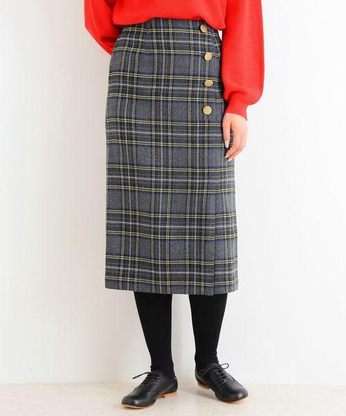 買得 【セール】チェック スカート(スカート)|NIMES(ニーム)のファッション通販, ワキチョウ:b2b15993 --- skoda-tmn.ru