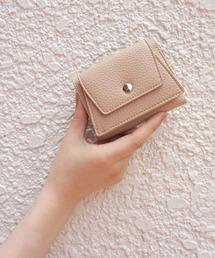 bad2f96233cc LAVEANGE(ラビアンジェ)の「ミニウォレット 三つ折り財布(財布)」