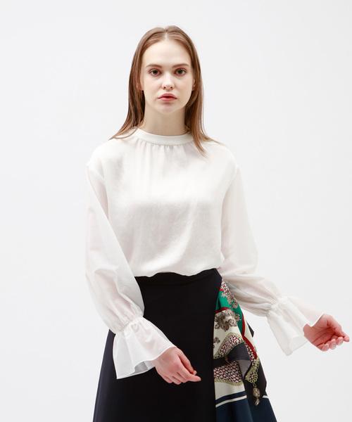 超爆安  ◆◆ギャザーネック シアースリーブ ブラウス(シャツ/ブラウス)|LOVELESS(ラブレス)のファッション通販, オオシマチョウ:d49e8e5a --- blog.buypower.ng