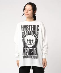 BEAR IMPLOSIONオーバーサイズTシャツ