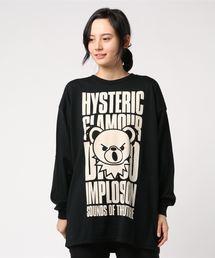 BEAR IMPLOSIONオーバーサイズTシャツブラック