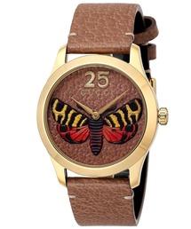 GUCCI G TIMELESS BUTTERFLY グッチ Gタイムレス バタフライ 腕時計 YA1264063 レディース(腕時計)
