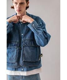 <monkey time> DENIM SIDE ADJUST VEST/ベスト