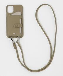 【WEB限定】【別注】∴<tov>レザーiPhone 11/XR ショルダーパスケース