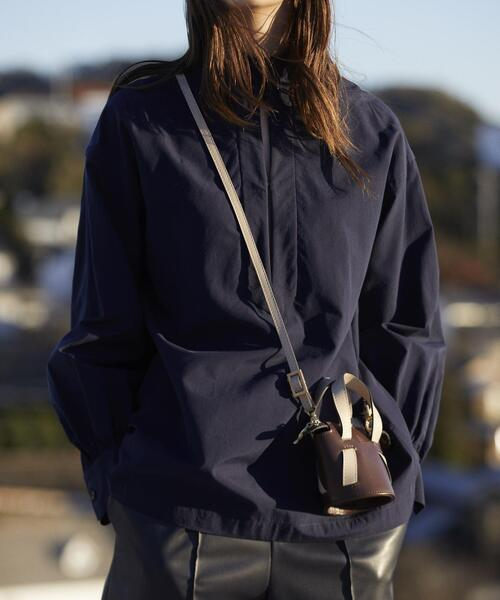 Odette e Odile(オデットエオディール)の「【別注】ALMIRA Mini Bucket Bag(ショルダーバッグ)」 ダークブラウン