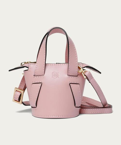 Odette e Odile(オデットエオディール)の「【別注】ALMIRA Mini Bucket Bag(ショルダーバッグ)」 ライトピンク