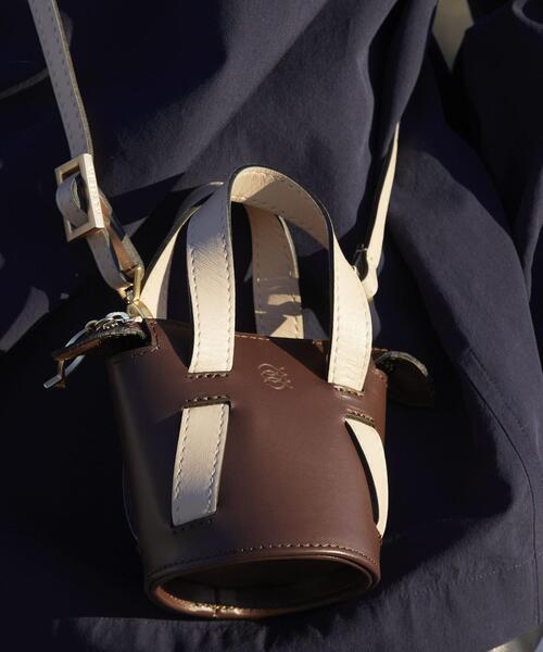 Odette e Odile(オデットエオディール)の「【別注】ALMIRA Mini Bucket Bag(ショルダーバッグ)」 詳細画像