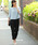 TRUDEA(トルディア)の「袖レース後プリーツプルオーバー×テーパードパンツ  / 結婚式・成人式・謝恩会・パーティードレス(セットアップ)」|ライトグレー