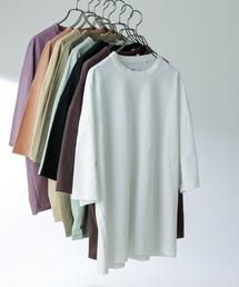 Lui's(ルイス)の高級 7分袖 ビッグシルエットTシャツ(Tシャツ/カットソー)