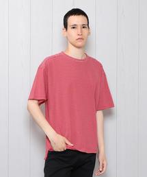 <UNUSED>BORDER SHORT SLEEVE T-SHIRT/Tシャツ.