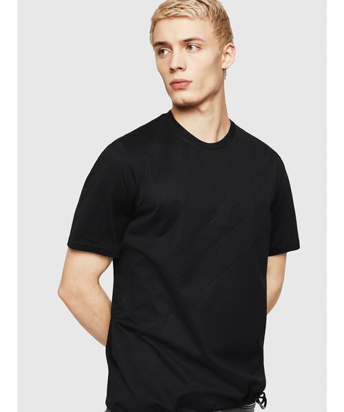 メンズ Tシャツ ドローコード付きTシャツ 0fdad392