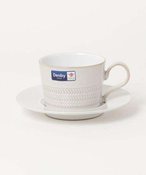 【Denby/デンビー】コーヒーカップ&ソーサー TSI