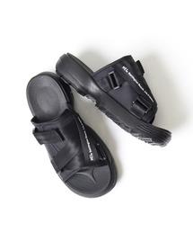 【 MEI / メイ 】Recycled nylonsandal ナイロンサンダル スポーツサンダル メンズサイズ 21SSブラック