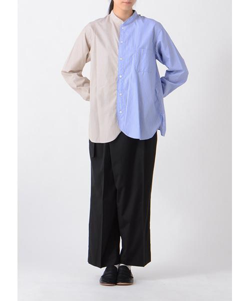 pickable stripe shirt