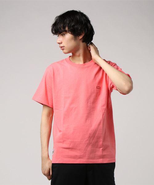CHUMS(チャムス)の「Booby Logo T-Shirt(Tシャツ/カットソー)」|コーラル
