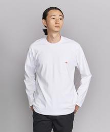 <DANTON(ダントン)> 1POC LOGO L/S TEE/Tシャツ