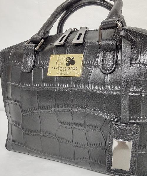 CRYSTAL BALL(クリスタルボール)の「Cow leather Carre bag(ハンドバッグ)」|詳細画像