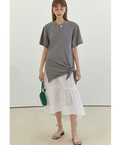 【Fano Studios】【2021SS】Oversize casual cotton loose dress FX21L060