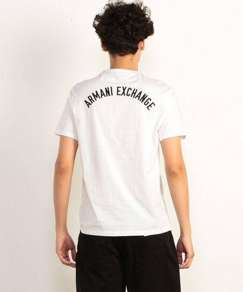 huge discount e277c 4f256 【A|Xアルマーニ エクスチェンジ】バックロゴ クルーネック半袖Tシャツ