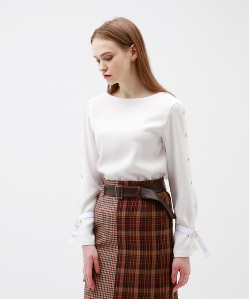 新しく着き ◆◆ボタンフライ スリーブ WOMENS,ラブレス LOVELESS スリーブ ブラウス(シャツ/ブラウス) LOVELESS(ラブレス)のファッション通販, 【売れ筋】:bb2a2df7 --- blog.buypower.ng