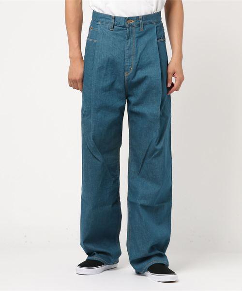 新しいブランド 【FIT MIHARA】ワイドデニムパンツ fit/Wide Denim Pants(デニムパンツ) YASUHIRO,メゾン|FIT MIHARAYASUHIRO(フィットミハラヤスヒロ)のファッション通販, TAISEI:f59d0a68 --- carschmiede.de